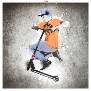 Banksy Spray Paint Graffiti
