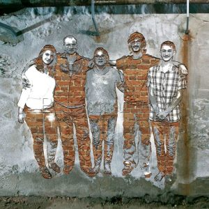 Carved Wall Street Art